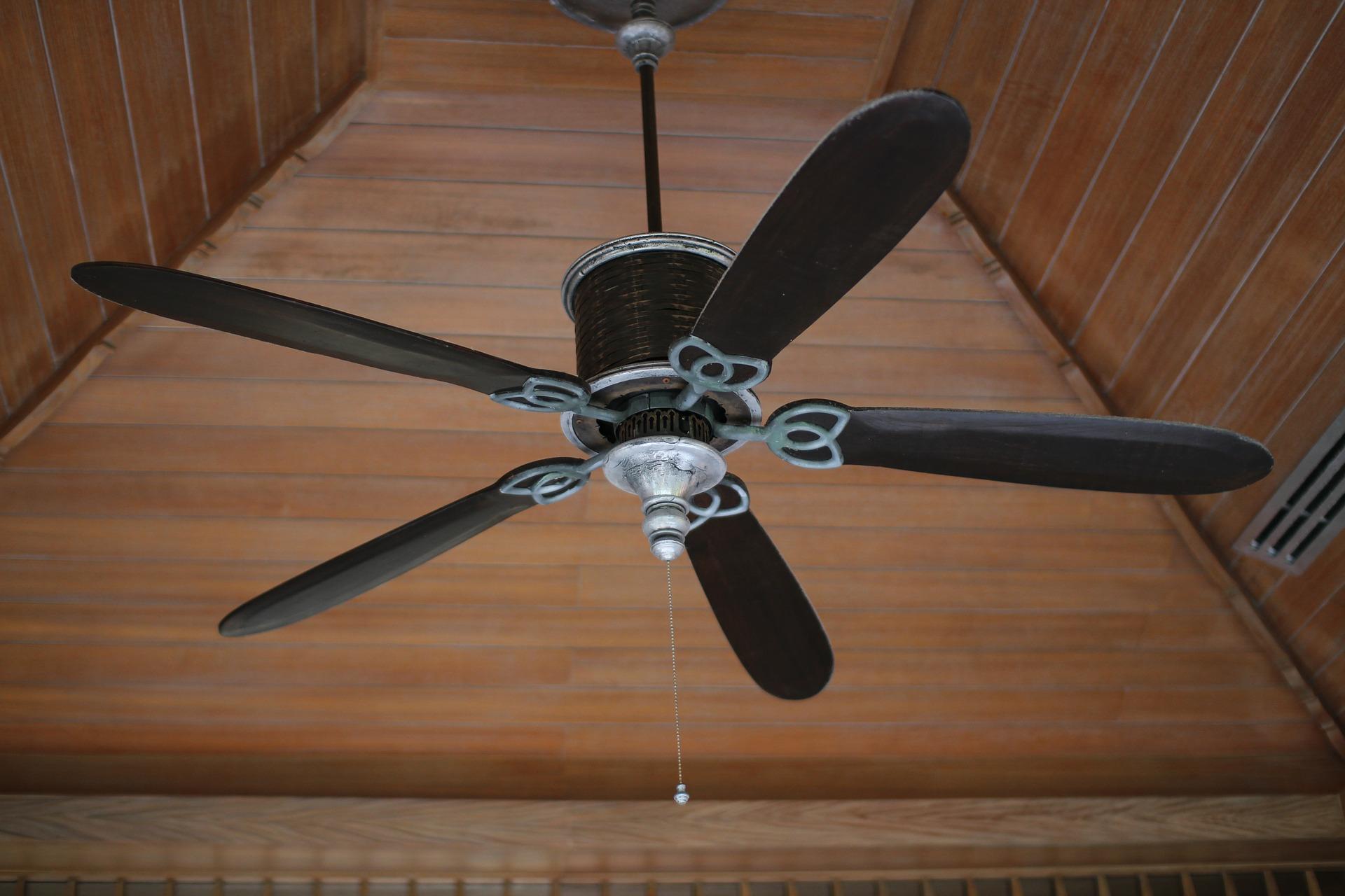 Ein Ventilator für die Decke